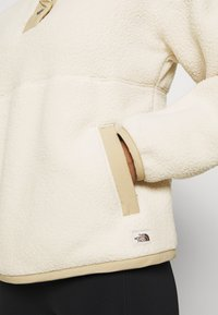 The North Face - CRAGMONT 1/4 SNAP - Fleece jumper - bleached sand - 5