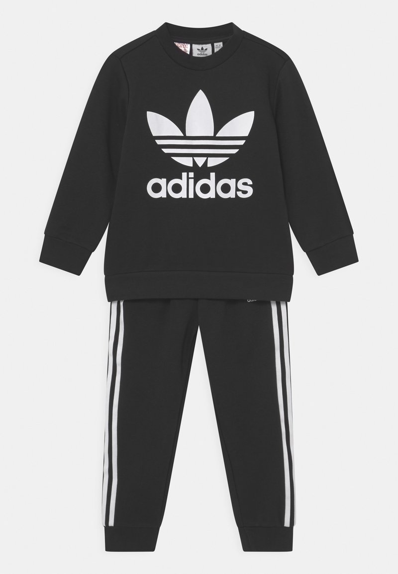 adidas Originals - CREW SET UNISEX - Survêtement - black/white