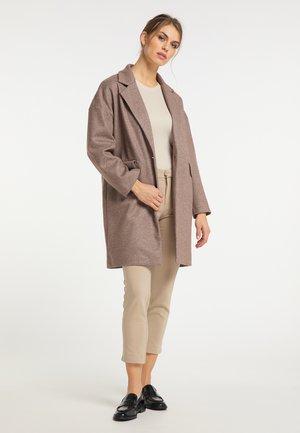 Zimní kabát - taupe
