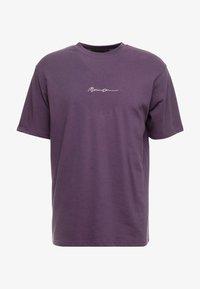 ESSENTIAL SIG UNISEX - T-shirt basic - purple