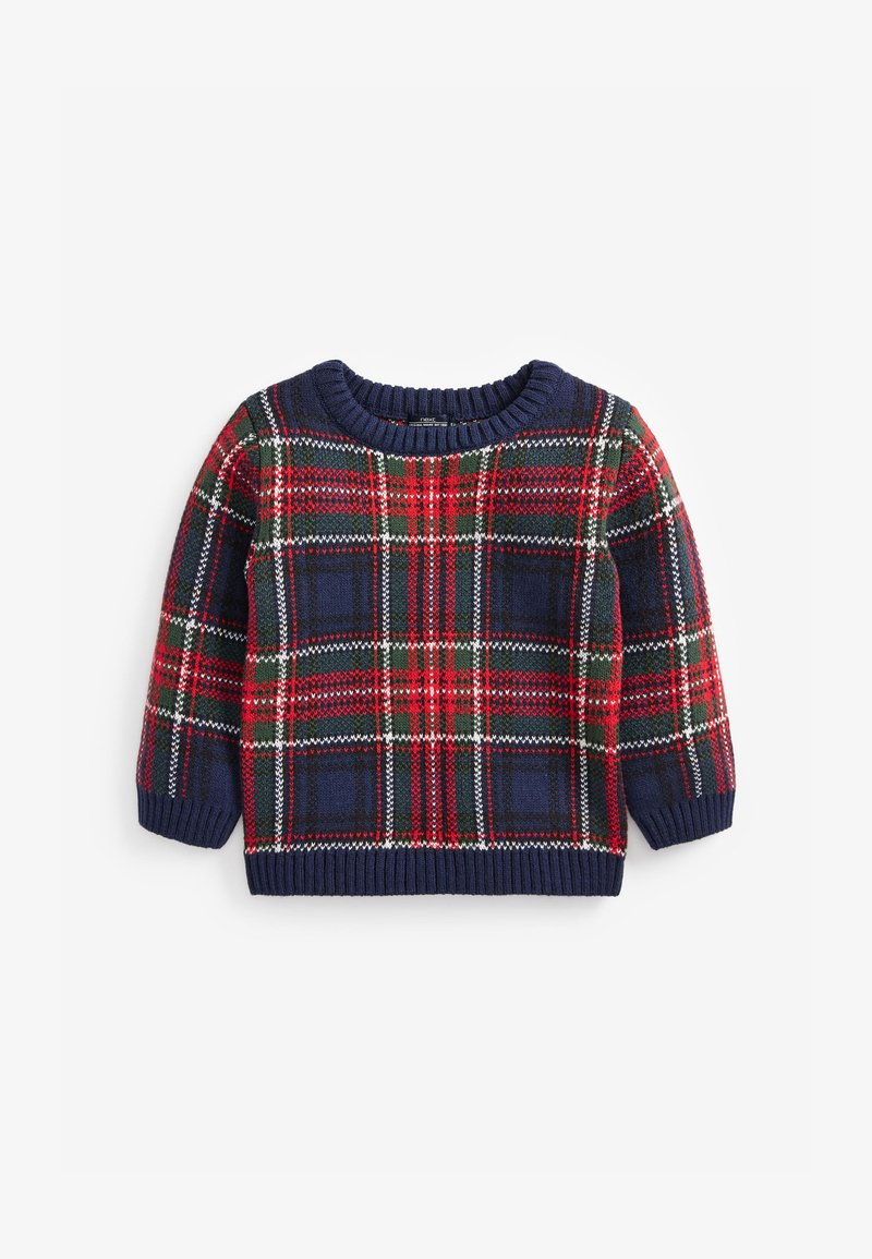 Next - TARTAN  - Jumper - blue