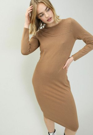 Jumper dress - kastanienbraun