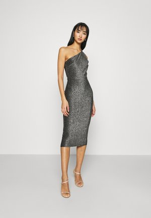 ONE SHOULDER GLITTER DRESS - Cocktailkjole - rainbow glitter