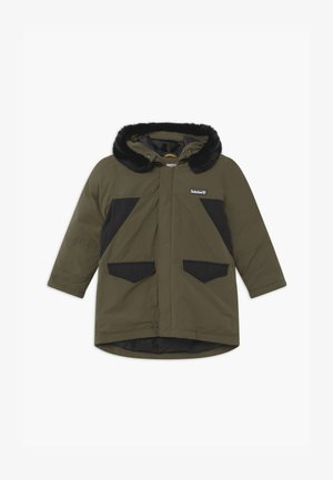 HOODED  - Winter coat - khaki
