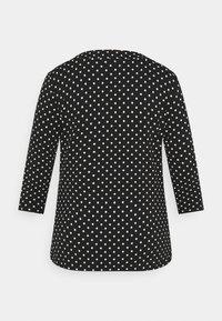 Lauren Ralph Lauren Woman - ALAYJA 3/4 SLEEVE - Long sleeved top - black/white - 1