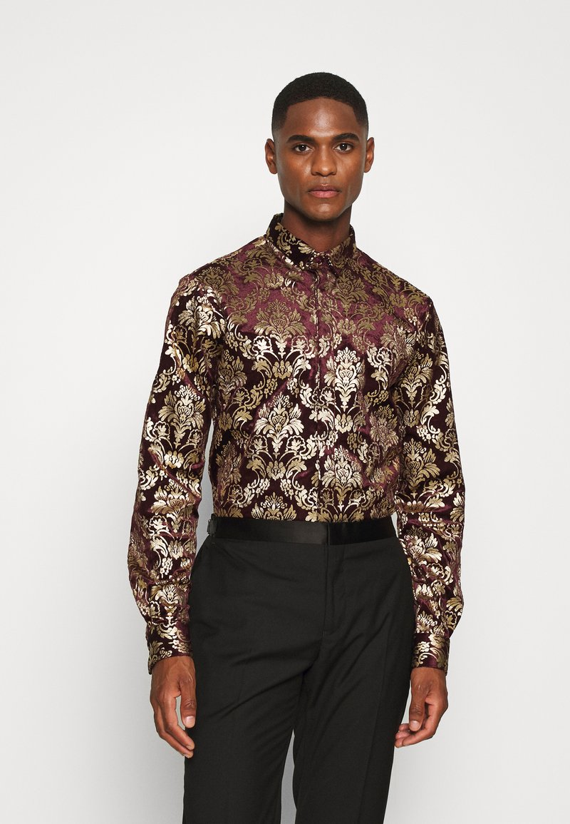 Twisted Tailor - HOLLAND - Chemise - wine