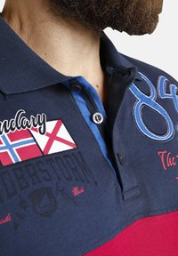 Jan Vanderstorm - Polo shirt - dunkelblau rot - 3