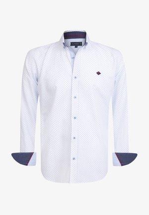 Overhemd - white blue