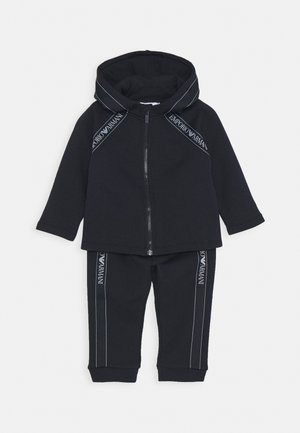 BABY SET - Tracksuit bottoms - blu navy