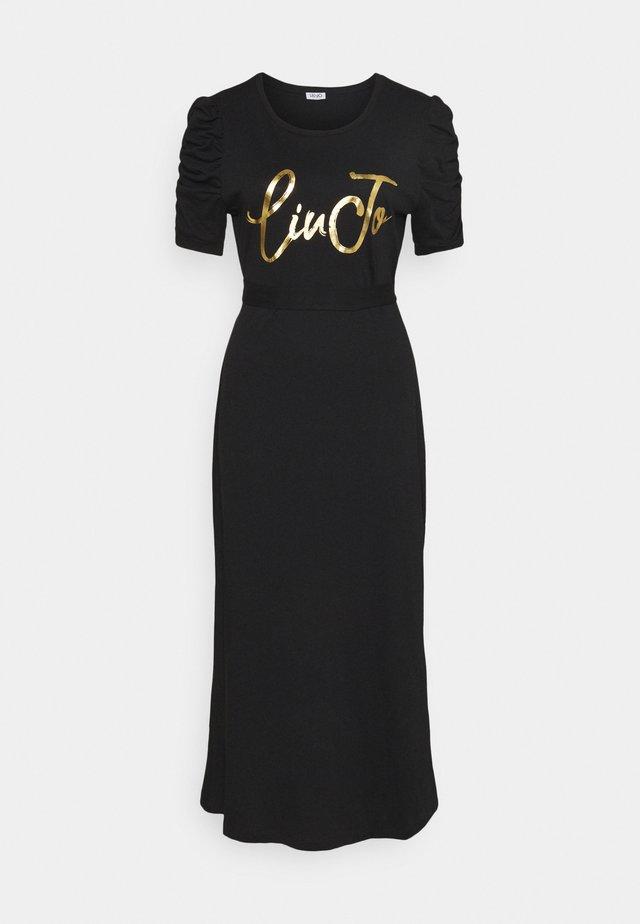 ABITO UNITA - Vestito di maglina - nero