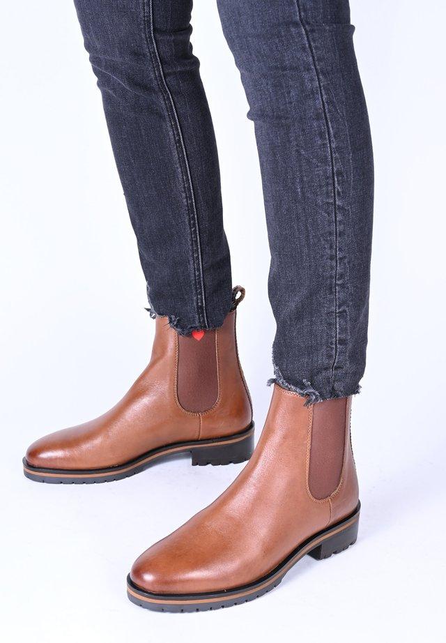 JOLENE - Ankle boots - cognac