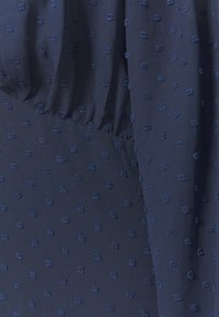 Missguided Plus - DOBBY MILKMAID DRESS - Day dress - navy - 2