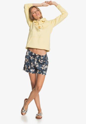 ANOTHER KISS - Sports shorts - mood indigo aqua ditsy