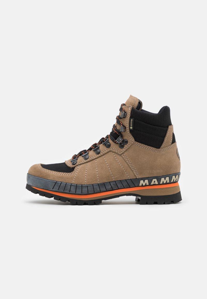 Mammut - YATNA II HIGH GTX WOMEN - Hiking shoes - dark safari/black