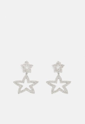 PCTYLIA EARRINGS - Oorbellen - silver-coloured