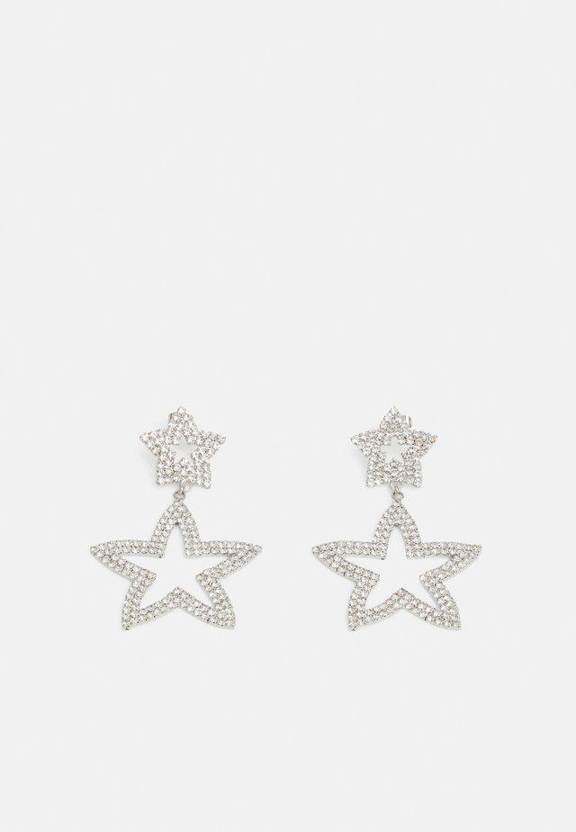 PCTYLIA EARRINGS - Kolczyki - silver-coloured