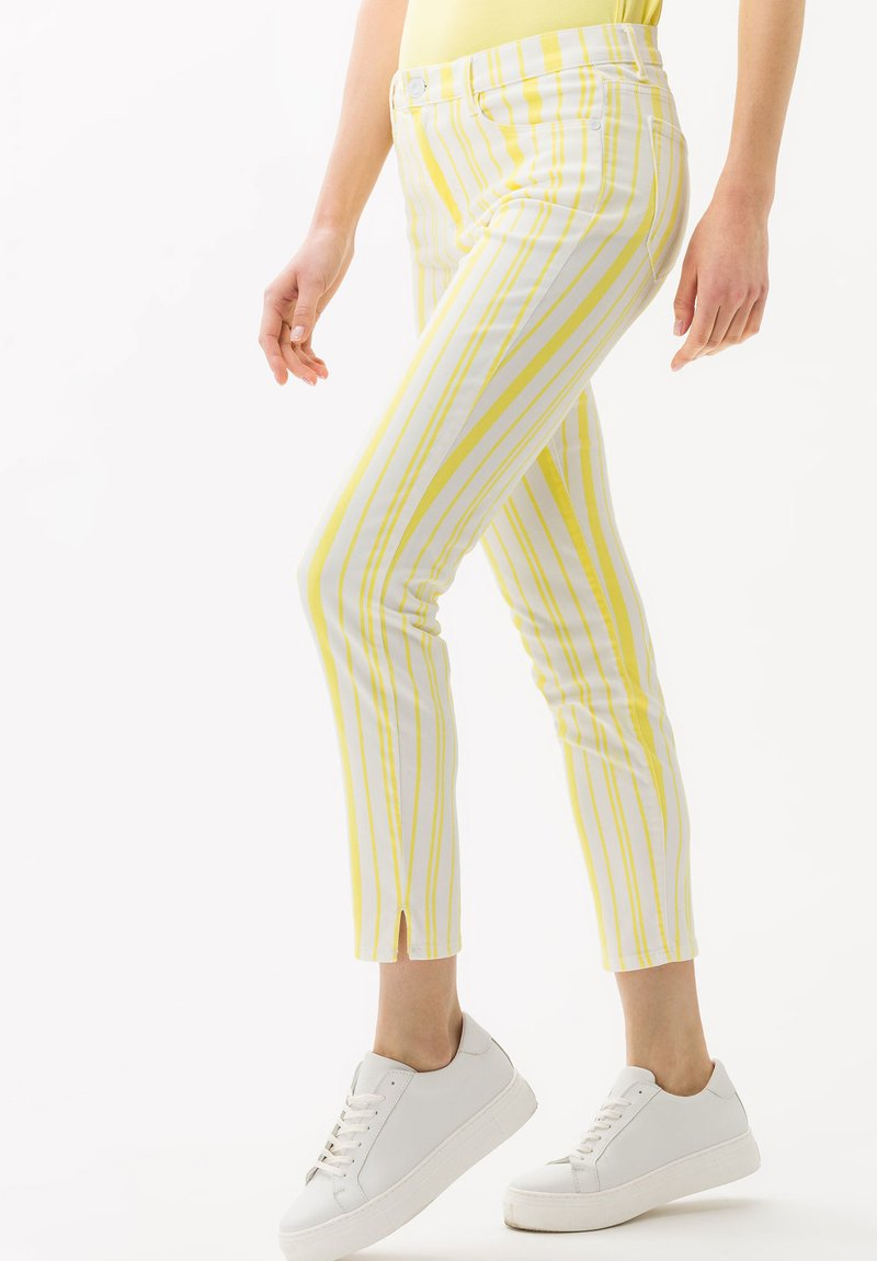 BRAX - STYLE SHAKIRA S - Jeans Skinny Fit - clean yellow