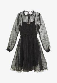Custommade - VIRA DRESS - Koktejlové šaty/ šaty na párty - anthracite black - 4
