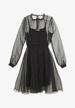 VIRA DRESS - Koktejlové šaty/ šaty na párty - anthracite black