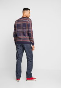 J.CREW - MILITARY CAMP PANT - Trousers - railroad navy - 2