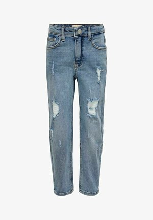 KONCALLA - Jeans Slim Fit - light blue denim