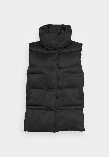 VEELUNA - Waistcoat - black