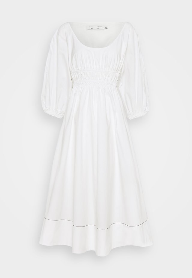 FULL SLEEVE DRESS - Freizeitkleid - white