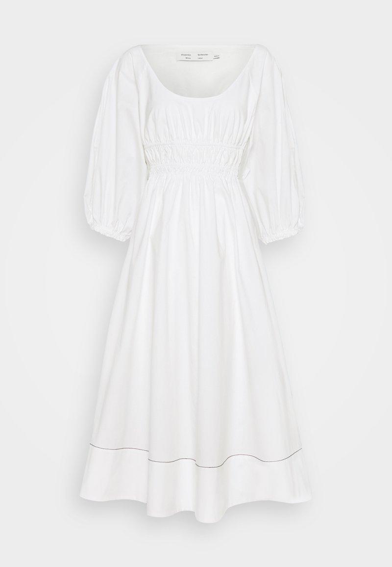 Proenza Schouler White Label - FULL SLEEVE DRESS - Vapaa-ajan mekko - white