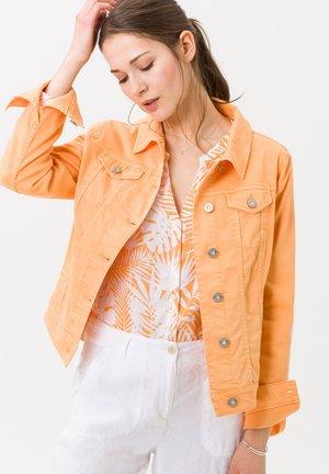 STYLE MIAMI LIGHT - Denim jacket - peach