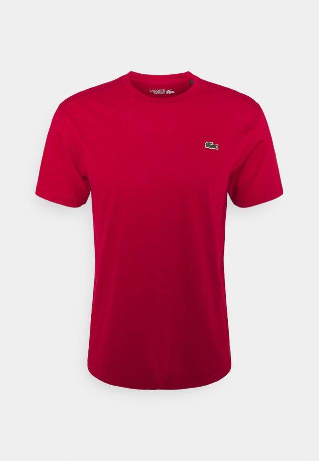 HERREN - T-shirt basic - ruby