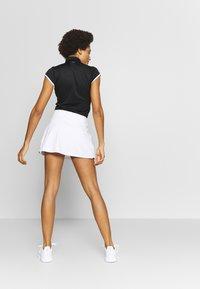 adidas Performance - CLUB SKIRT - Sportovní sukně - white/black - 2