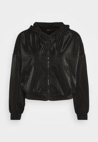 ONLY - ONLCARMEL ZIP HOOD - Zip-up hoodie - black - 4