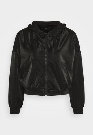 ONLCARMEL ZIP HOOD - Zip-up hoodie - black
