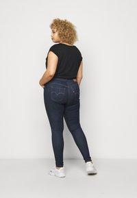 Levi's® Plus - 720 HIRISE SUPER SKINNY - Jeans Skinny Fit - deep serenity - 2