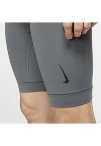 Nike Performance - DRY YOGA - Leggings - iron grey/black - 4
