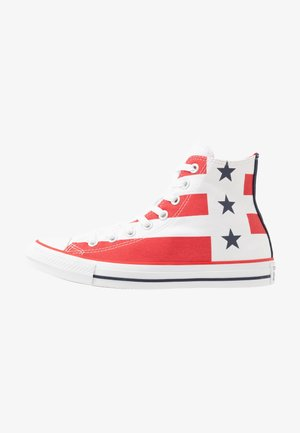 CHUCK TAYLOR ALL STAR - High-top trainers - white/university red/white