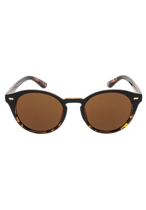 JAQUIM - Sunglasses - black & tortoise