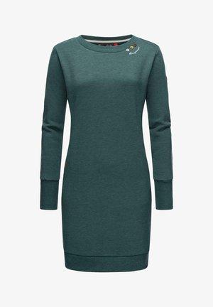 MENITA INTL. - Shift dress - dark green