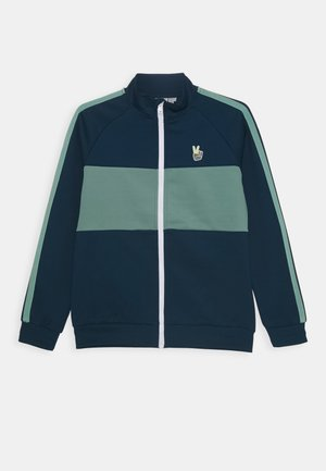 NKMLIKS - Zip-up hoodie - gibraltar sea