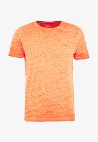 T-SHIRT KURZARM - T-shirt basic - pop orange