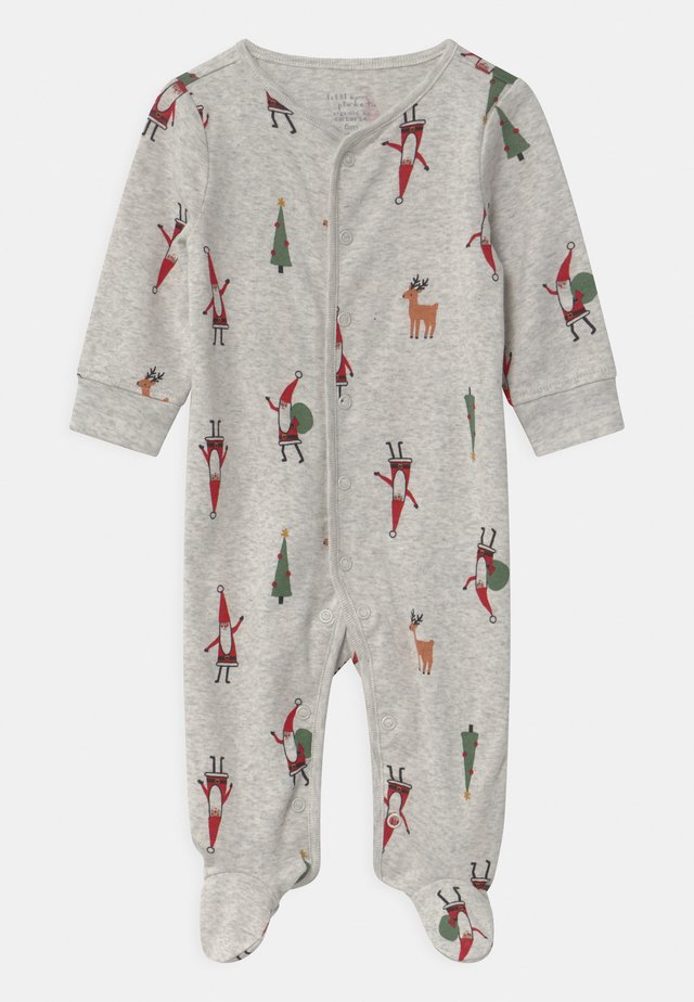 SLEEP PLAY CHRISTMAS UNISEX - Śpioszki - mottled light grey