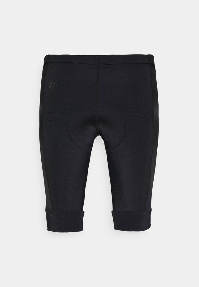 CORE ENDUR SHORTS - Leggings - black