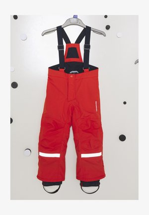IDRE KIDS PANTS - Trousers - poppy red