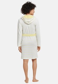 Schiesser - Dressing gown - yellow - 1