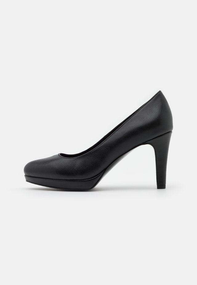 COURT SHOE - Escarpins à plateforme - black