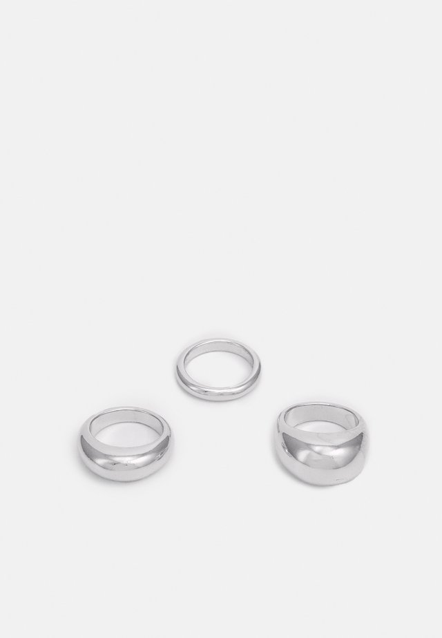 AMINA 3 PACK - Ring - silver-coloured