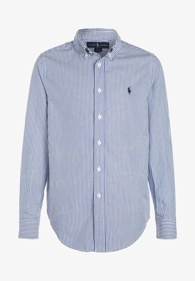 CUSTOM FIT BLAKE - Camisa - blue/white