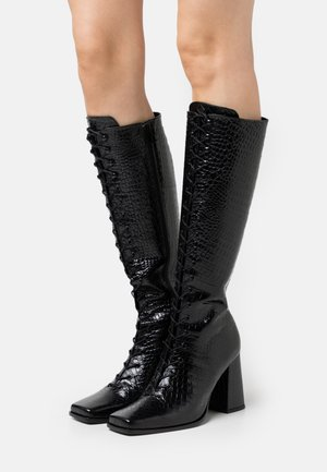 BOTTINESEN - Lace-up boots - black