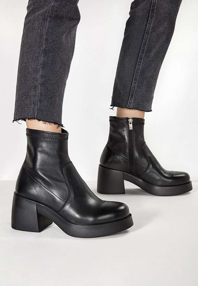 Ankle boot - black blk