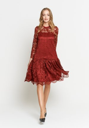 OTTILIANA - Cocktail dress / Party dress - weinrot